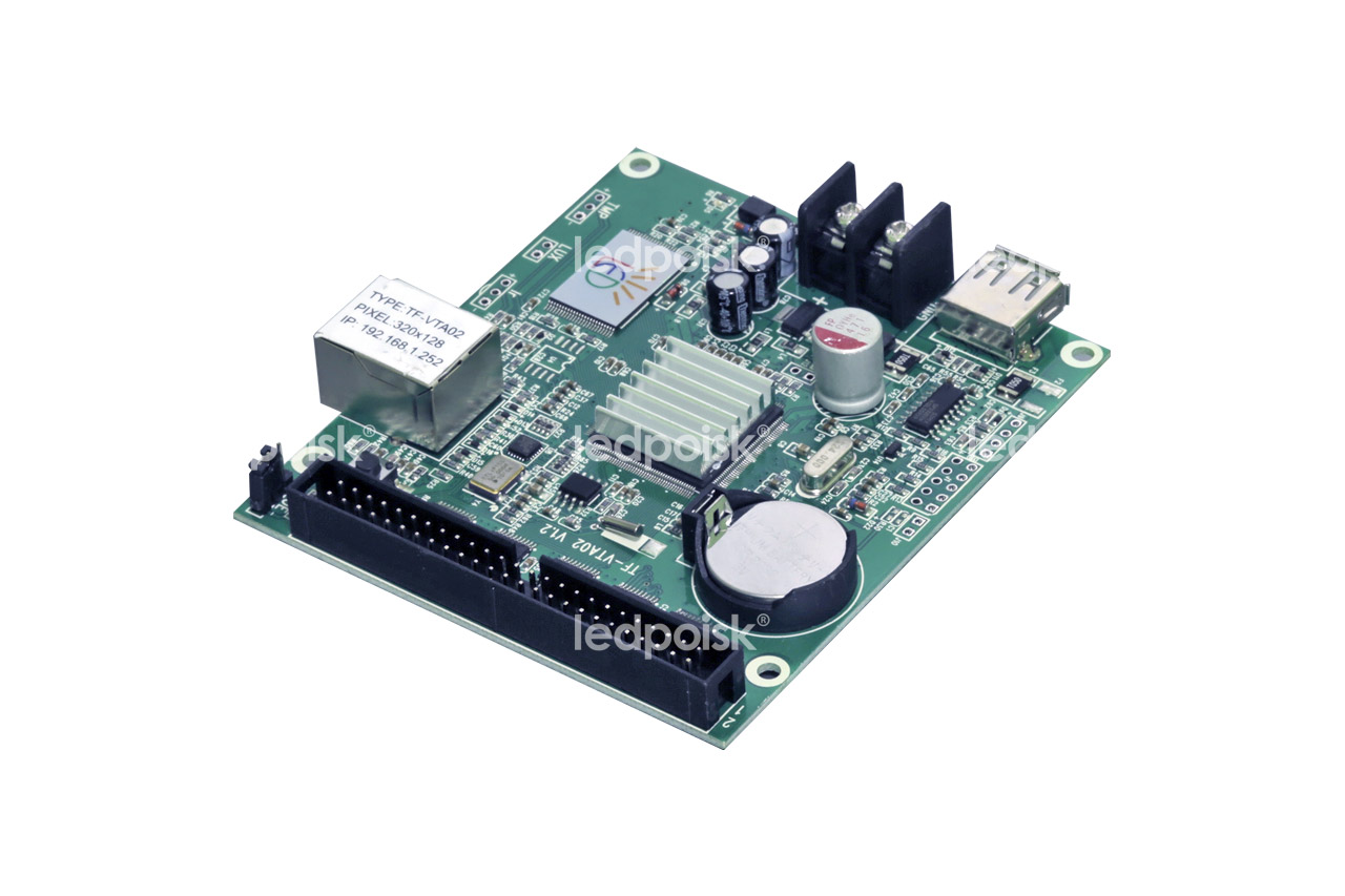 Видеоконтроллер TF-VTA02 (USB, LAN)
